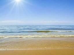 """Фотопечать """"Песчаный пляж"""""""