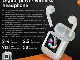 Наушники беспроводные Bluetooth Remax Digital Player TWS-19, белые