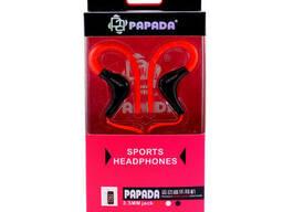 Наушники Papada sport - красные
