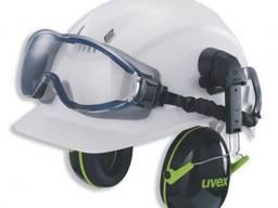Наушники UVEX K1H с креплением на каску