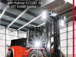 Навантажувач вилковий Kalmar електро Li-ioN в/п 9-18тн, нові, Імпортер, Гарантія