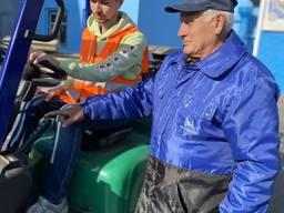 Навчання водіїв навантажувачів