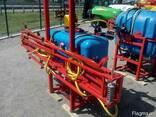 Навесной опрыскиватель 200 л для внесения пестицидов штанга - фото 1