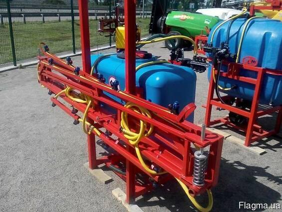 Навесной опрыскиватель 200 л для внесения пестицидов штанга