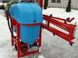 Навесной опрыскиватель 400 л для внесения пестицидов штанга - фото 5