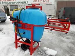 Навесной опрыскиватель 400 л для внесения пестицидов штанга - фото 6