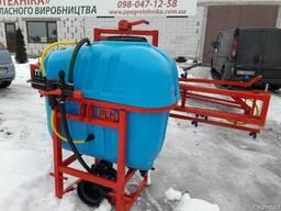Навесной опрыскиватель 400 л для внесения пестицидов штанга - фото 7