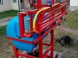 Навесной опрыскиватель 200 л для внесения пестицидов штанга - фото 2