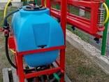 Навесной опрыскиватель 200 л для внесения пестицидов штанга - фото 3