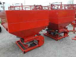 Навесной разбрасыватель 1000 кг фирмы Jar-Met Польша - фото 1
