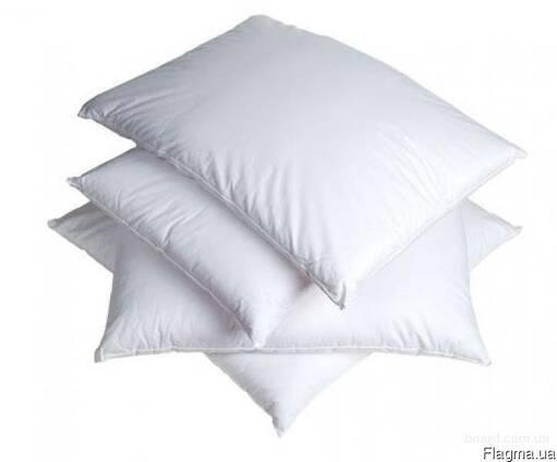 Наволочка белая бязь размер 80 на 80, белье постельное