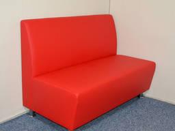 Недорогие диваны для кафе, диванчик ожидания для офиса в наличии
