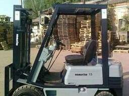 Недорого складской автопогрузчик Каматсу для склада доставка