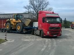 Негабаритные перевозки тралом в Львове