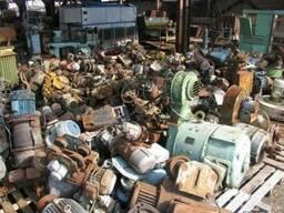 Куплю электродвигатели редукторы трансформаторы тельферы
