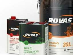 Немецкое моторное масло Rovas 5W-40 синтетика