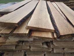 Необрезная сухая доска (дуб, ясень, ольха) 30, 50 мм