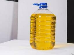 Нерафинированное подсолнечное масло холодного отжима