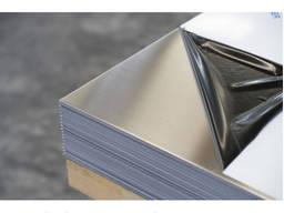 Лист нержавеющий AISI 201 (12х15г9нд) зеркальный и матовый