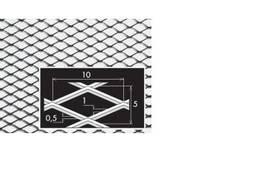 Нержавеющий просечно-вытяжной лист 10/5x1x0, 5/1000x2000 мм,