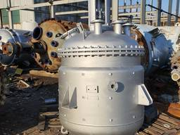 Нержавеющий реактор 2 м3, реактор с мешалкой 2 м3.