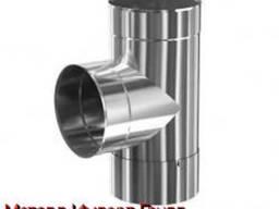 Нержавеющий тройник 204х2 мм DIN 11850