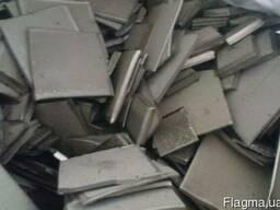 Продам никель лом карточку анод, катод, 700 кг, никель лом