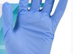 Нитриловые перчатки 3 г/м² облегченные (100шт/уп), без пудры