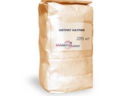 Нитрит натрия, натрий азотистокислый пищевой