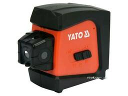 Нівелір лазерний лінійно-точковий самонівелюючий YATO дальність- 20 м, точність- ±1. 5. ..