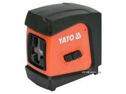 Нівелір лазерний самонівелюючий YATO дальність- 20 м, точність- ±1. 5 мм / 5 м