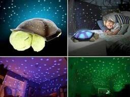 Ночник Черепашка проектор звёздное небо. Музыкальный.