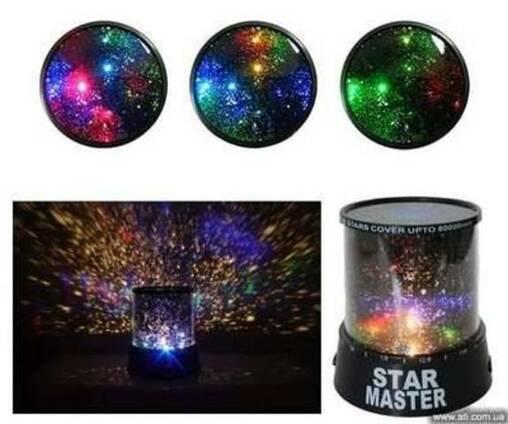 Звездный проектор ночник Star Master