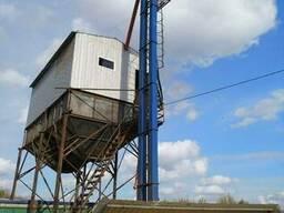 Ковшевый ленточный вертикальный элеватор Нория типа...