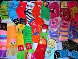 Носки хлопковые детские и подростковые для мальчиков и девочек (все размеры)