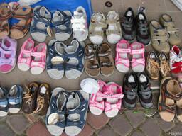 Новая детская обувь. Микс. Лето. 20 евро/кг.