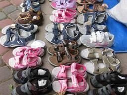 Новая детская обувь. Микс. Лето. 20 евро/кг. - фото 3