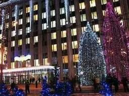 Новогоднее елочки и украшение