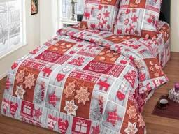 Новогоднее постельное белье Сувенир (бязь, 100 хлопок)