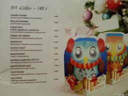 Новогодние детские подарки, конфеты и шоколадки фирмы roshen