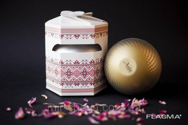 Новогодний Подарочный чай Вышиванка 100г оптом ТМ Надин