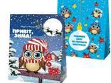 Картонная коробка для новогодних подарков и конфет - фото 4