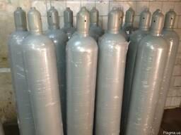 Новый аммиачный баллон 40 литров. Pw 200/300 Bar ГОСТ 949-73