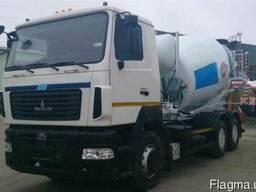 Новый автобетоносмеситель АБС-9ДА на шасси МАЗ-6501