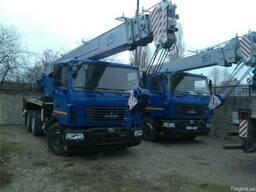 Новый автокран КС-55727-С-12 Машека 25 тонн на шасси МАЗ