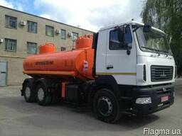Новый бензовоз АТЗ-12 на шасси МАЗ-6312С5