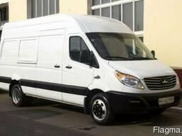 Новый цельнометаллический грузовой фургон МАЗ 365022