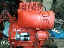Новый двигатель на трактор Т-16, Двигатель Д-21