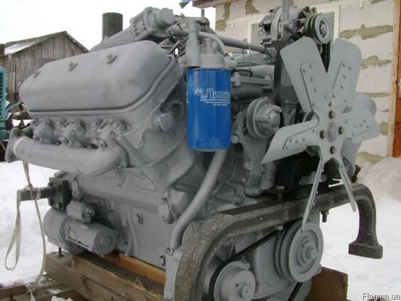 Новый двигатель ЯМЗ-236Д (V6) на трактор Т-150