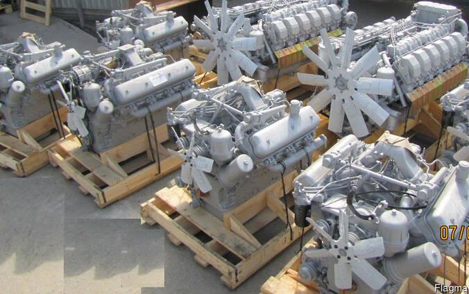 Новый двигатель ЯМЗ-236ДК (V6) на комбайн Енисей
